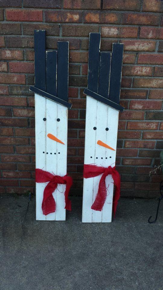 DIY Snowmen