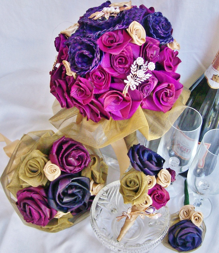 Go to http://facebook.com/fabulousflax for more flax flowers - weddings and home decor