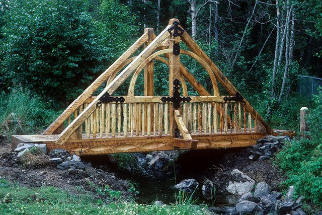 51 best images about timber frame on pinterest luxury for Timber frame bridge