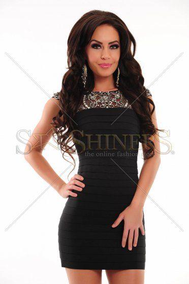 Rochie Sherri Hill 2933 Black