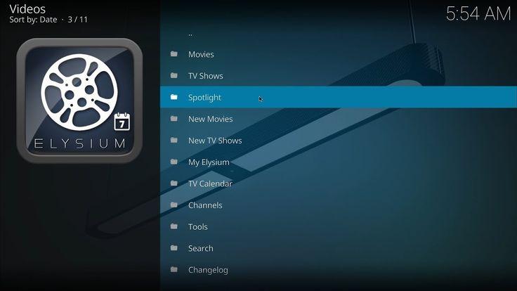 KODI How to Install Elysium  Exodus Alternative-Elysium is a great alternative to the now dead Exodus add-on BEST KODI BOX Purchase NVIDIA SHIELD TV http://amzn.to/2kBnhYZ Canada Amazon NVIDIA SHIELD http:...
