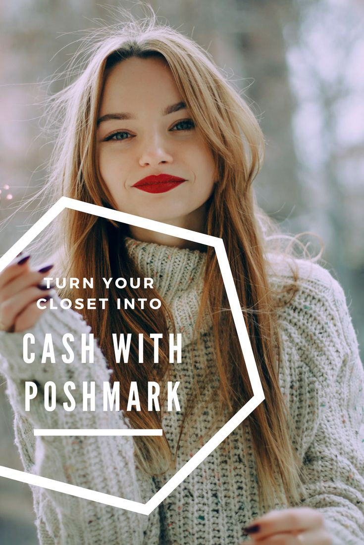 Clear Out Your Closet and Make some $$$ with this Guide to Using Poshmark! #sidehustle #closet #cash #poshmark