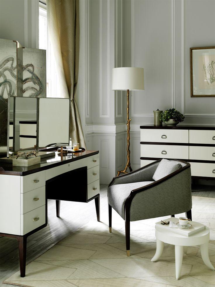 Graceful Bill Sofield designs   a soft palette of white   grays add  elegance to this bedroom sanctuary   Baker Furniture. 16 best Bedroom Inspiration images on Pinterest   Baker furniture