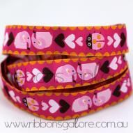 girli elephant ribbon (18mm wide) [per metre] : Ribbons Galore, your online store for the best ribbons #ribbonsgalore #ribbon #elephant