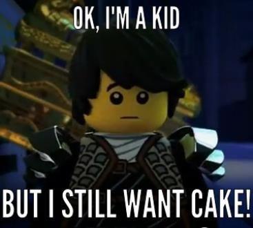 LEGO.com - Gallery - LEGO® Ninjago - Funny Dareth and Cole!