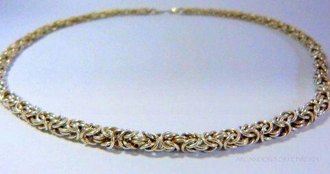 Necklace, silver 9.50