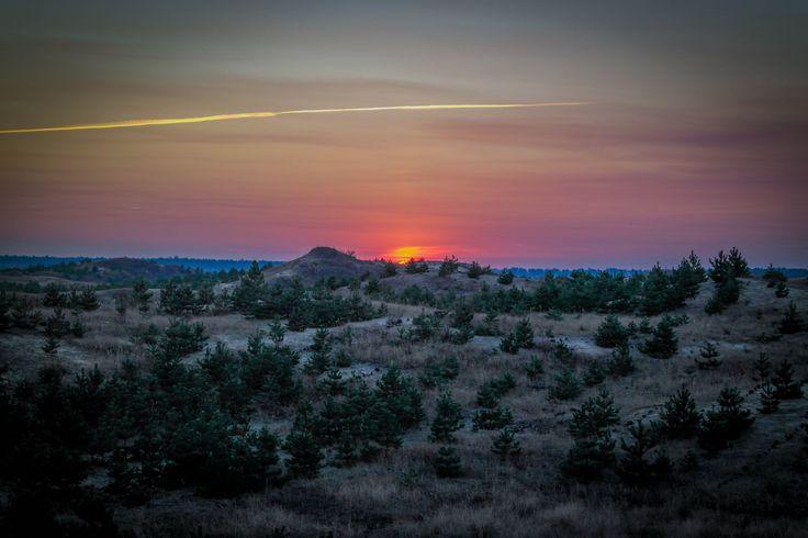 Sunset in Shishakov