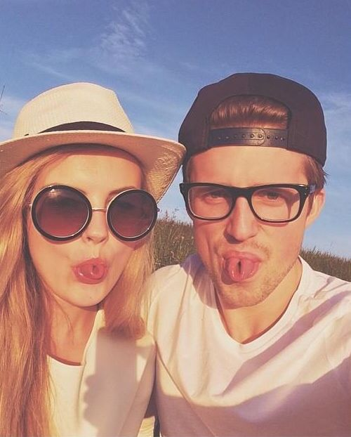 Marcus Butler and Niomi Smart