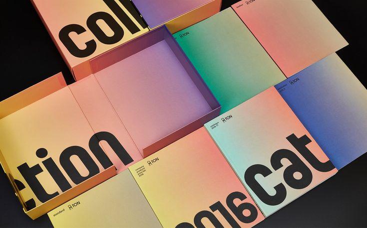 TON - furniture manufacturer catalogue 2016—17 - printed matter set