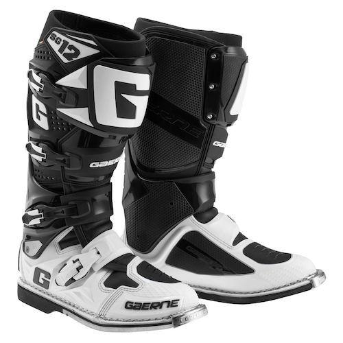 Gaerne SG-12 Boots (BLK/WHT)