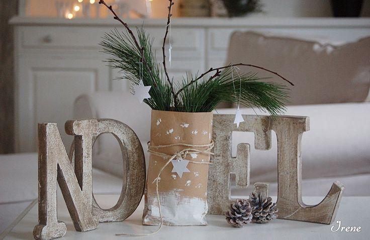WeihnachtlicheTischdekoration