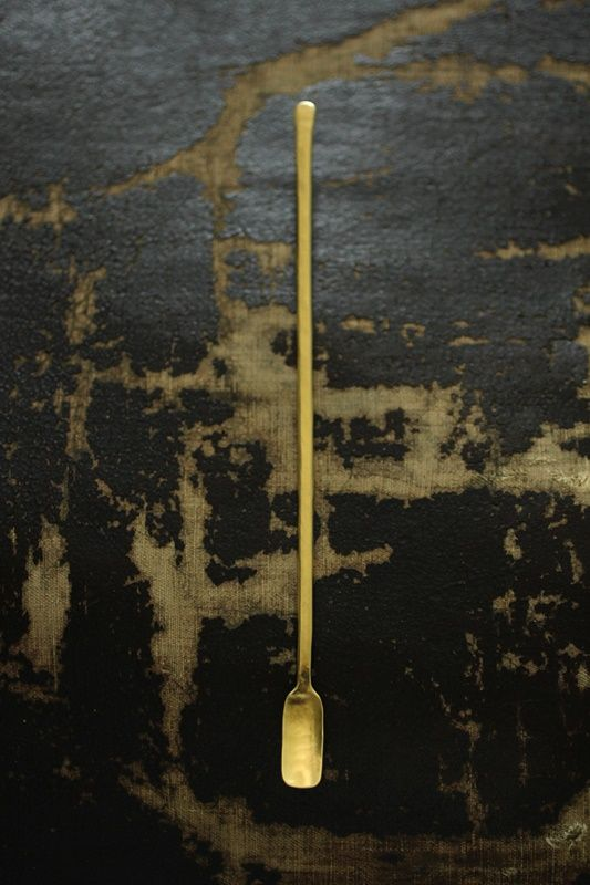 Brass Stir Tea Spoon < L > - IRRE