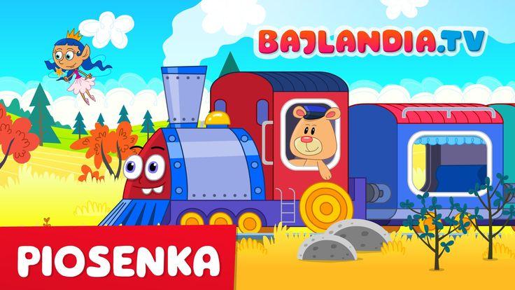 Piosenka dla dzieci -  Jedzie pociąg z daleka - bajlandia.tv