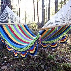 rainbow cotton hammock  ergonomically designed to support your back  36 best handcrafted nicaraguan products images on pinterest      rh   pinterest