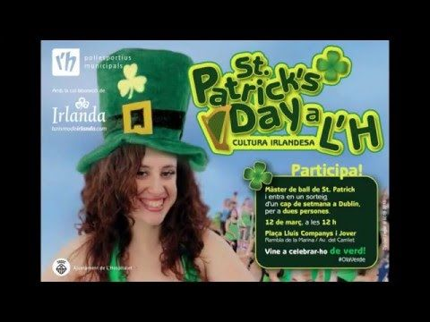 Únete a nuestro baile irlandés en la Masterclass de San Patricio en L'Hospitalet de Llobregat - YouTube