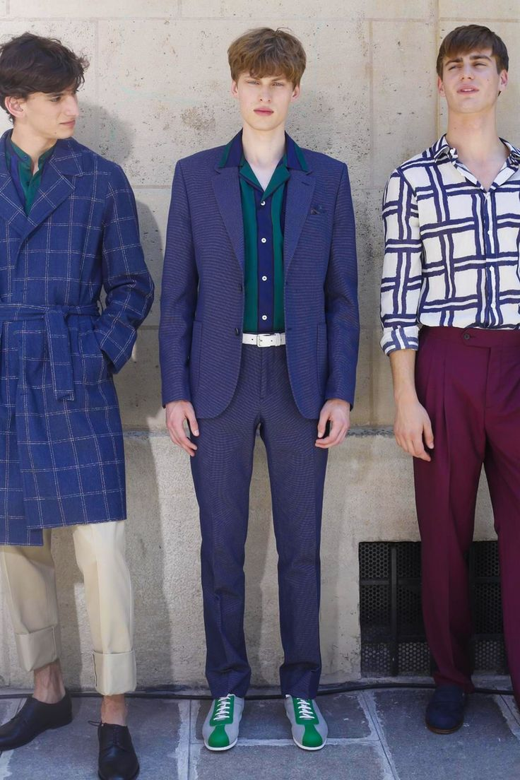 MELINDAGLOSS Menswear Spring Summer 2016 Paris - NOWFASHION
