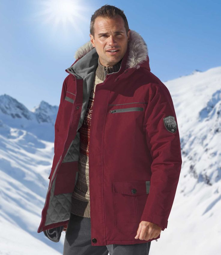 Parka Grand Froid #atlasformen #formen #discount #shopping #ootd #outfit #fashion #timeless #instafashion #casual #style #travel #voyage  #winter #hiver
