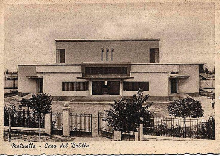 La casa del balilla attuale palestra comunale anni 39 30 for Casa comunale