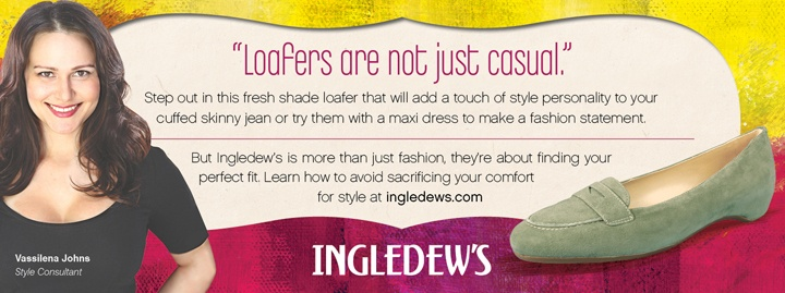 Ingledew's is more than just fashion, they're about finding your perfect fit - find out how at www.ingledews.com...