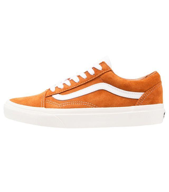 orange Old Skool Vans: Vans Old Skools in Glazed Ginger