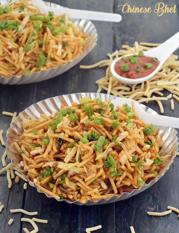 Chinese Bhel ( Mumbai Roadside Recipes )