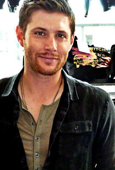 Jensen with a beard- hot!