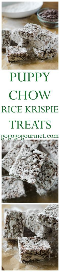 Whether you call it Muddy Buddies or Puppy Chow, this mashup of favorite childhood treats is a definite WIN!   Go Go Go Gourmet @gogogogourmet