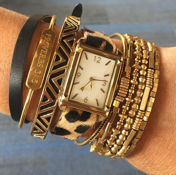 Now that's an arm party! New season, plus Bespoke? Totally fresh. #armparty…