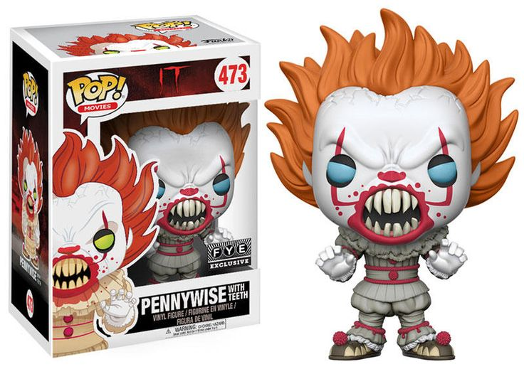 Funko: IT-Exclusive IT Pennywise with Teeth Funko Pop!