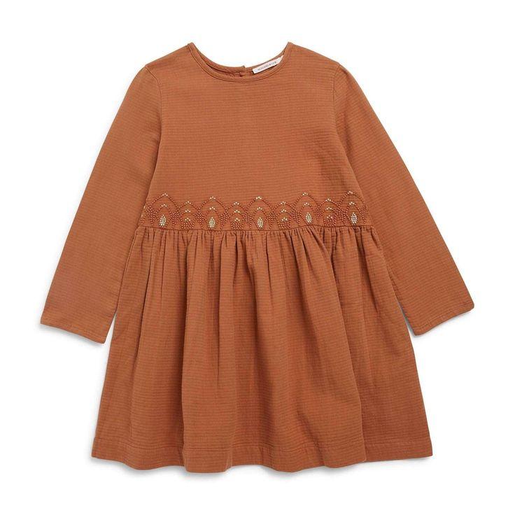 MONOPRIX KIDS Robe - caramel