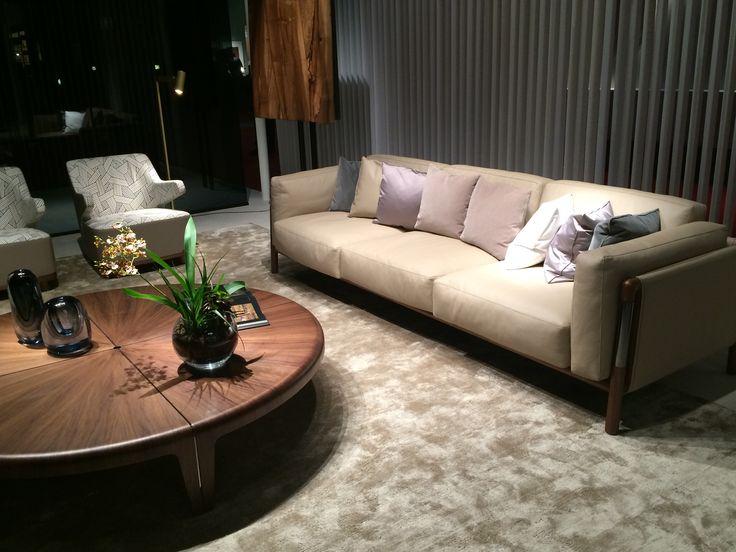 #giorgetti #livingroom #sofa #wood #leather #design #furniture #interior