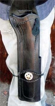 Mare's Leg Holster with Keeper/Concho. YOU DREAM IT - WE MAKE IT.
