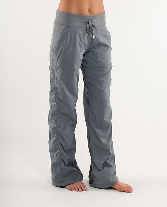 LuLu Lemon Studio pant.  First turned on to them from my ballerina friends and instantly fell in love!