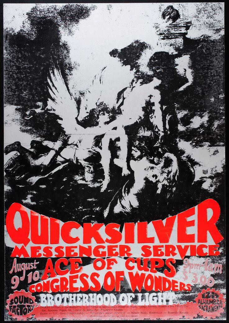185 best QUICKSILVER MESSENGER SERVICE (from San Francisco ... Quicksilver Messenger Service Poster