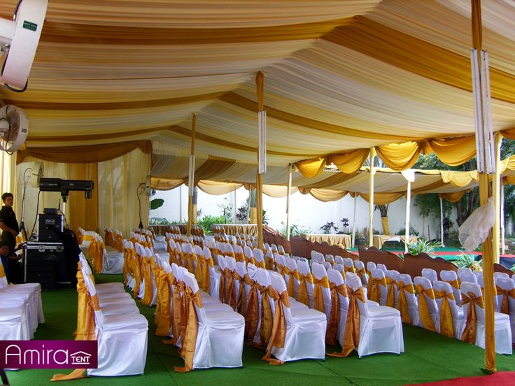 Tenda Pesta Dekorasi ( Peresmian Apartemen Kemanggisan Jakarta Barat )
