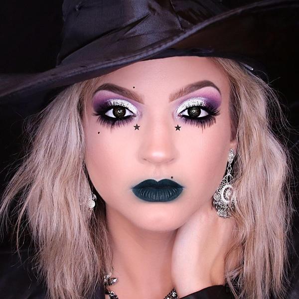 Glam Witch Makeup Tutorial Halloween Makeup Tutorial Easy Halloween Makeup Easy Halloween Makeup Tutorial