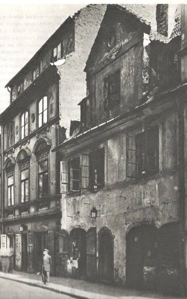 Warszawa międzywojenna - ulica Freta
