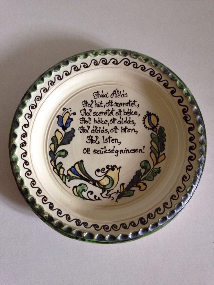 Házi Áldás tányéron