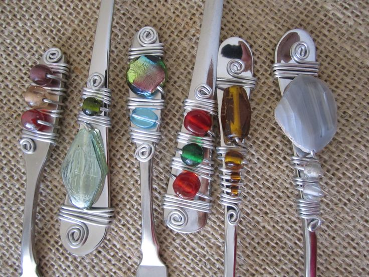 Beaded serving pieces