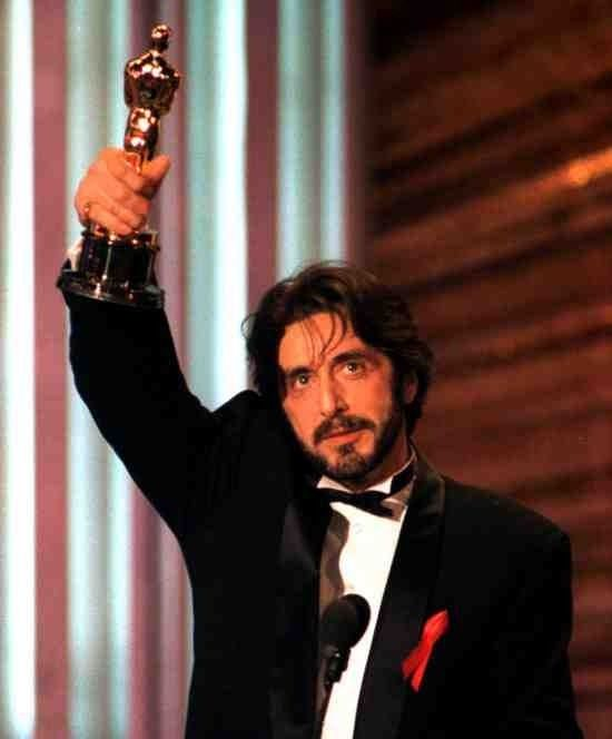 Al Pacino won the Academy Award for Best Actor for the film Scent Of A Women in 1992.