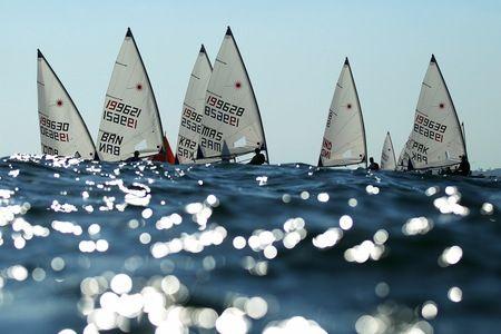 Radial Open Laser sailing at Al-Musannah Sports City