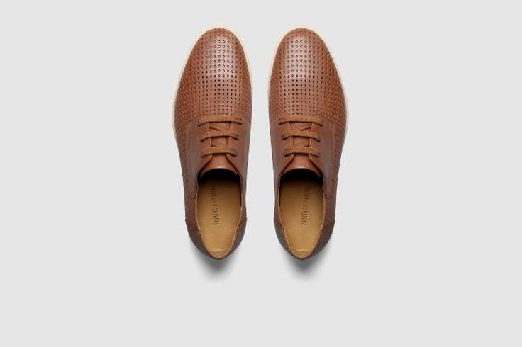 Sapatos Plataforma PRUDÊNCIO X EUREKA - Cognac