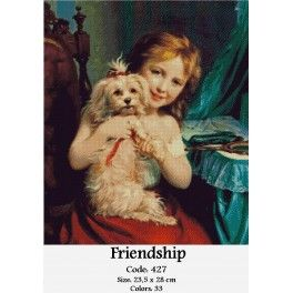 Gobelin Tapestry Set - Friendship