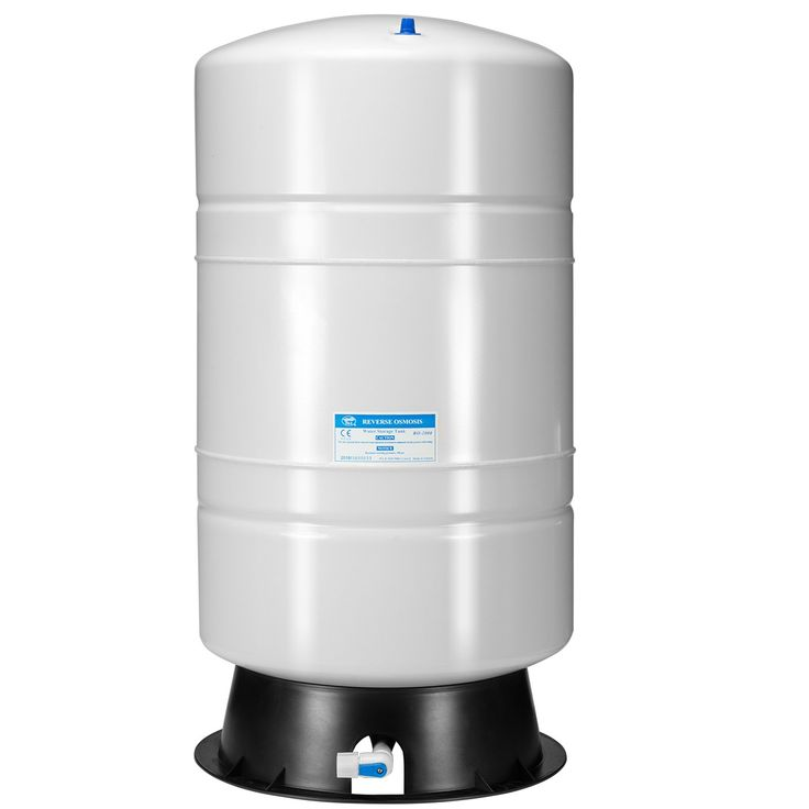 iSpring 20 Gallon NSF Reverse Osmosis Water Storage Tank #T20M - Color may be white or blue