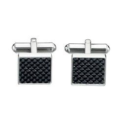 Fred Bennett Steel Carbon Cufflinks #Jewellery