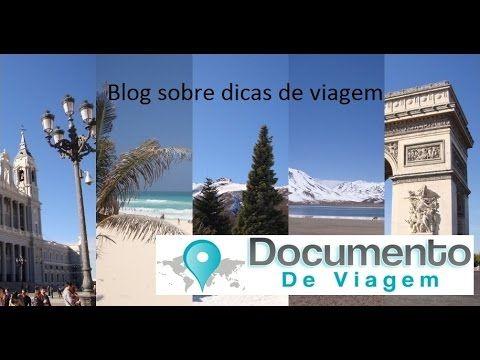 Documento de Viagem - Blog sobre dicas de viagem