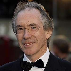 Ian McEwan who wrote Solar and Atonement and many other wonderful books.
