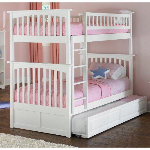 Atlantic Furniture Columbia Twin over Twin Bunk Bed