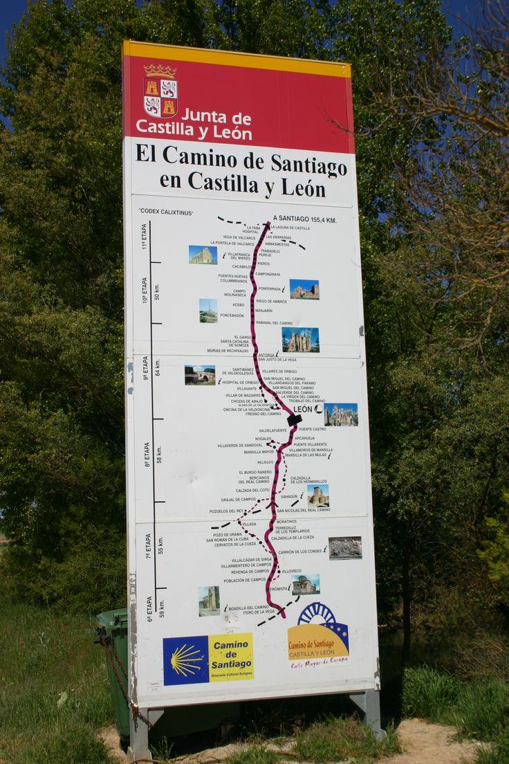 Il Cammino di Santiago di Compostela.