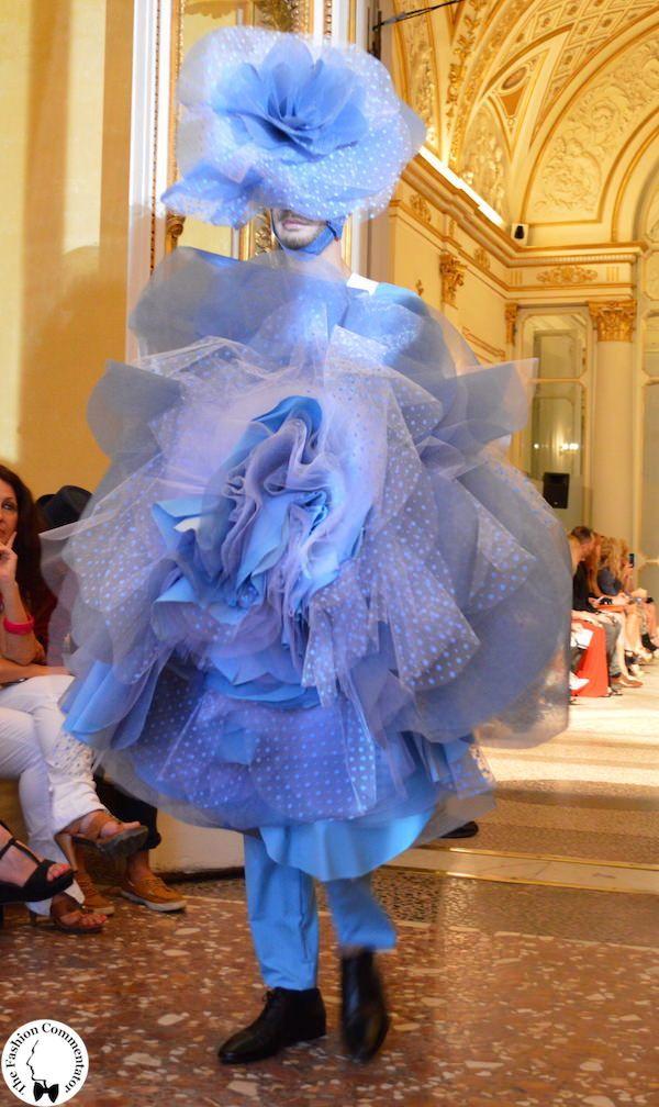 Polimoda Show 2015 || i Pulcinella floreali di Alessandro Trincone